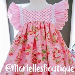 Dresses - Strawberry Shortcake Flutter Dress